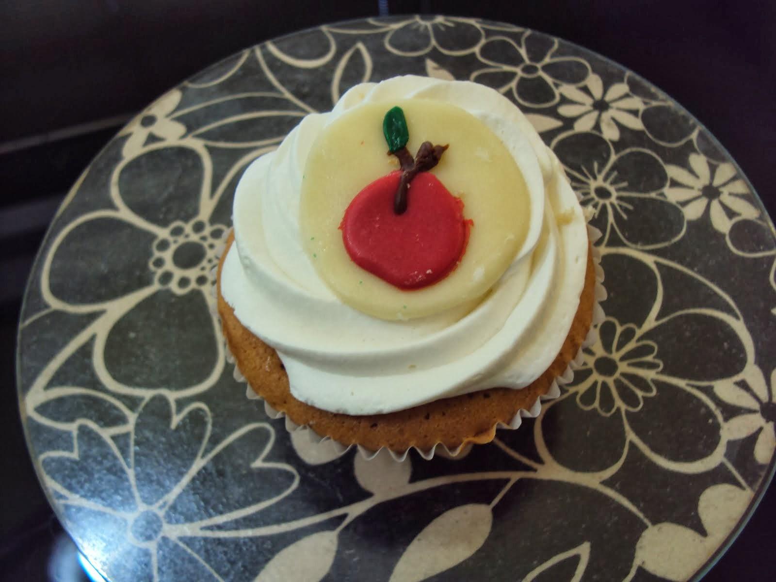 Cupcake de cereja