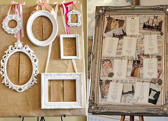 8 ideas para una boda shabby chic blog de bodas for Marcos originales para cuadros