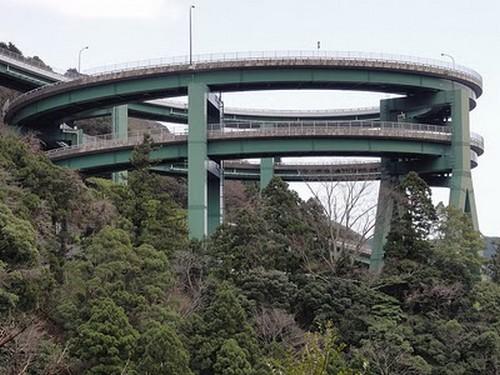 Puentes más curiosos del mundo - Kawazu-Nanadaru Loop