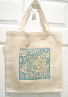 Shop till you drop canvas bag