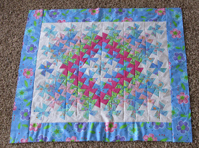 quilt top with borders
