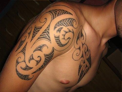 tattoos for men on back