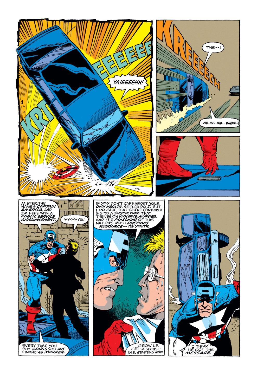 Captain America (1968) Issue #374 #307 - English 16