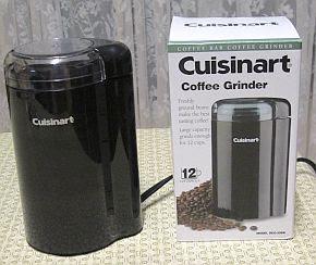 Jeffrey and Juli cook: Adventures in Iowa: Cuisinart Coffee Grinder