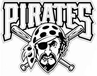 Escudo de los piratas para colorear