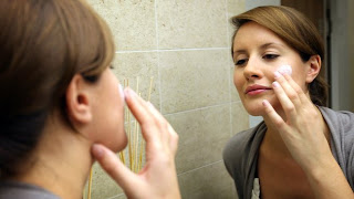 Retinol cream can cause acne in some people.