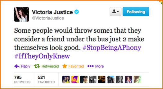Filmografía (TV, Cine) » 'Victorious', 'Sam & Cat' & 'Scream Queens' - Página 3 Victoria-Justice-Fight-With-Ariana-Grande