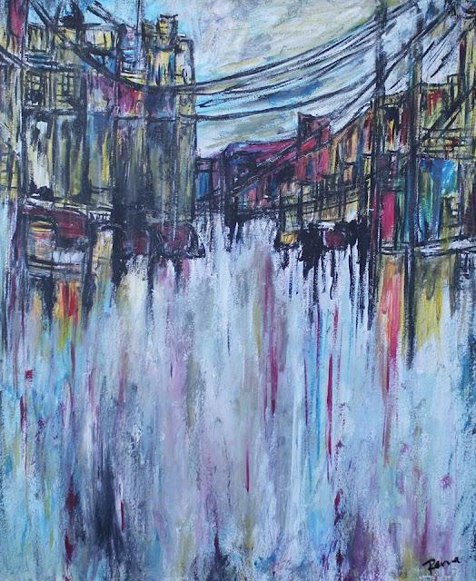Une oeuvre de la série ''My City''