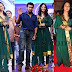 Anushka Shetty Green Anarkali Salwar