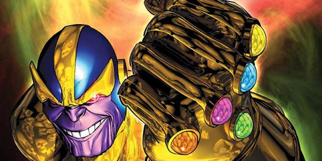 Thanos de Titán, el ser más poderoso del universo.