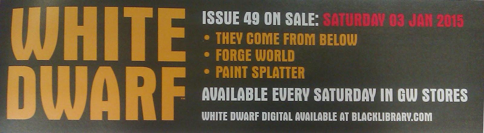 Adelanto de la White Dwarf Weekly 49