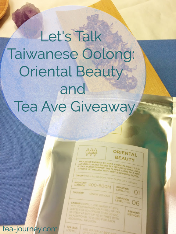 Taiwanese Oolongs have a special place in my heart as they are one of the first teas I tried when I begun my Tea Journey.  So in dedication to the leaf and Taiwanese teas, we are going to look at 5 different Oolongs throughout September. Our first tea is Oriental Beauty with a giveaway for 8 teas in a tin with a 15$ gift card.