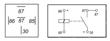 Saya belajar memahami kerja relay 85 adalah kaki pengendali relay kutub negatif 86 adalah kaki pengendali relay kutub positif 87 adalah kaki penerima arus dari kaki 30 ccuart Choice Image