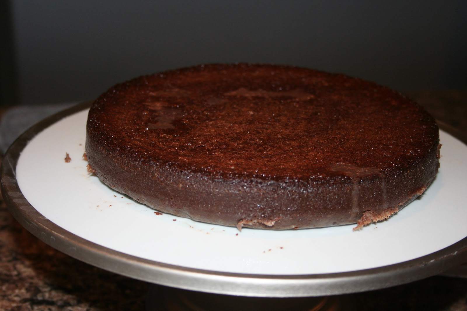 MD Designs: Flourless Chocolate Torte w. Chocolate ganache