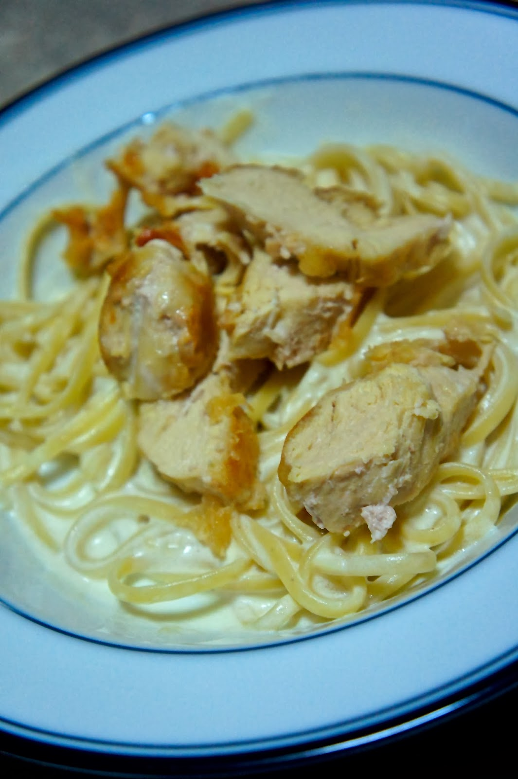 Savory Sweet and Satisfying: Chicken Alfredo