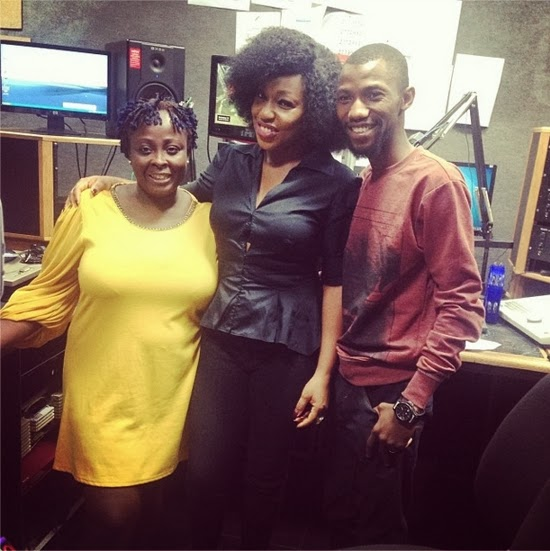 rita dominic interview wazobia