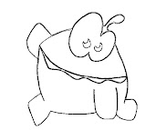 #6 Cut The Rope Coloring Page