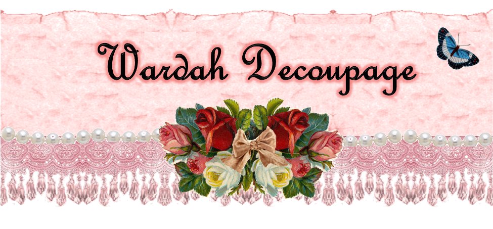 Wardah Decoupage