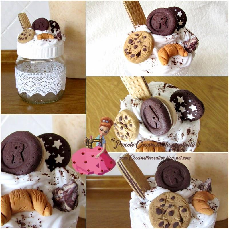 Eccezionale Piccole coccinelle, la creatività !! : Barattolo Nutella abbellito  BM18