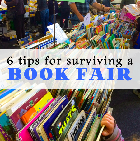 6 tips for surviving a book fair