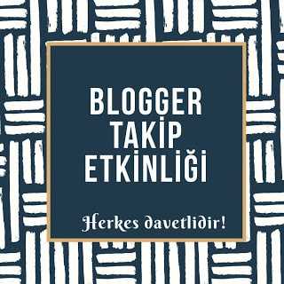 Blogger Takip Etkinliği