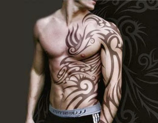 Cool arm tattoos for men tattoos art for Tribal tattoos for men forearm