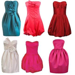 modelos de Vestido Balonê
