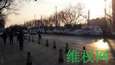 中国民主党迫害观察员:全国访民大集访遭遇警方疯狂拦截抓捕(图)