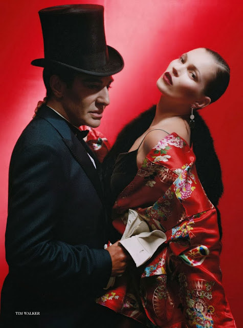 Kate Moss John Galliano Vogue UK December 2013