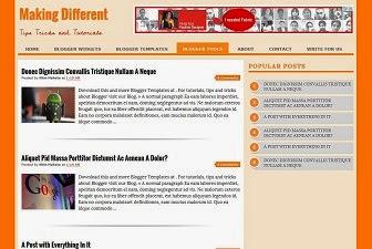 Tổng hợp blogger template đẹp 2014