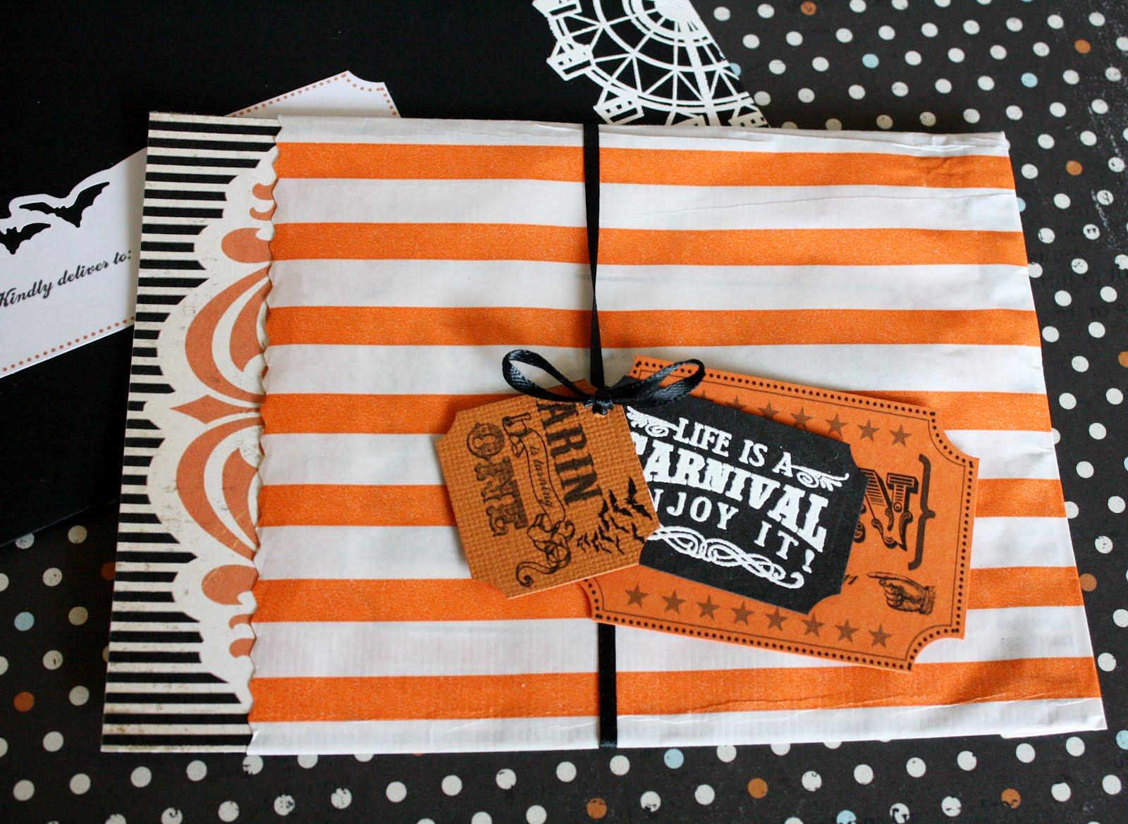 fort field halloween birthday carnival invitations