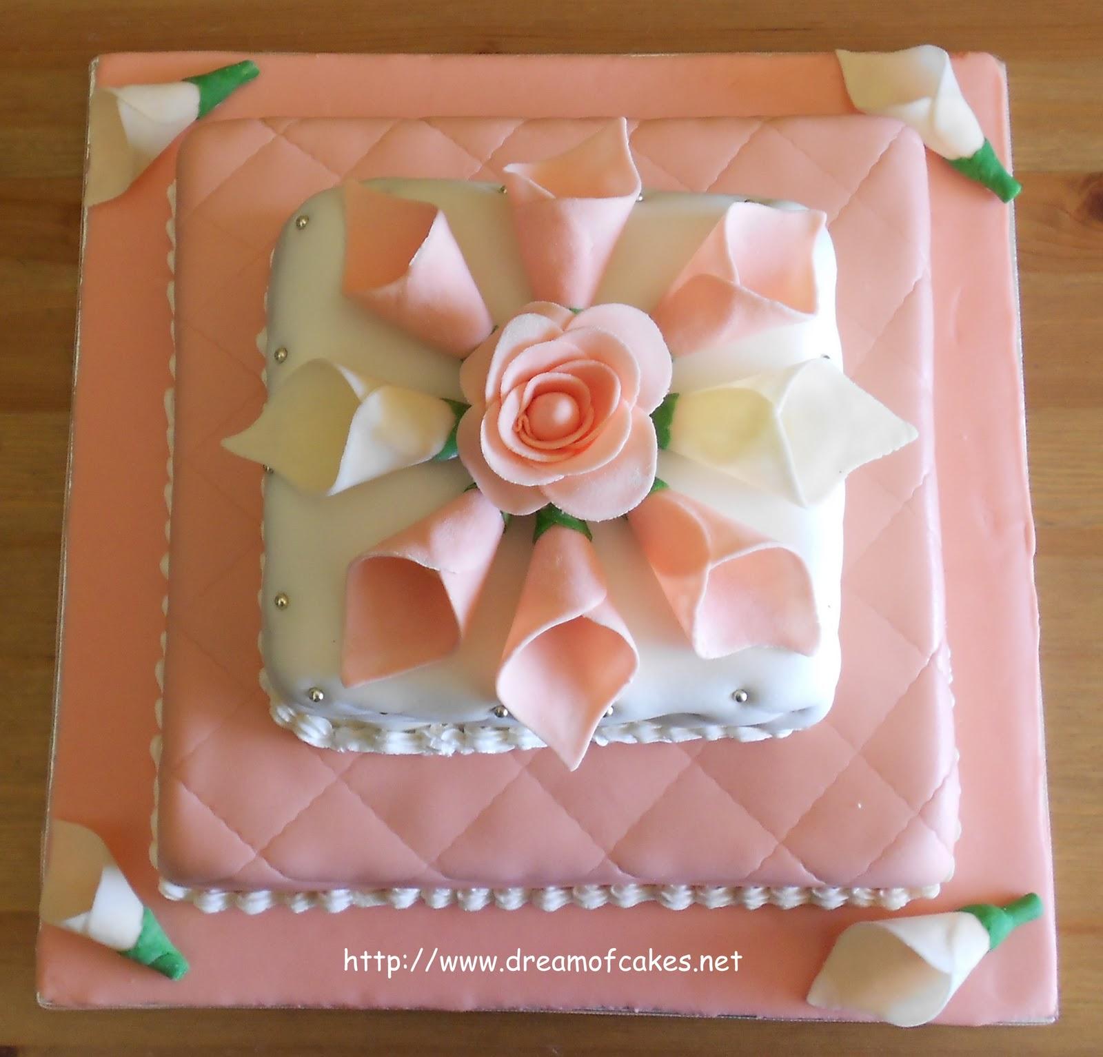 Dream of Cakes: Elegant Wedding Cake