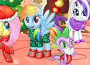 My Little Pony Xmas Party juego