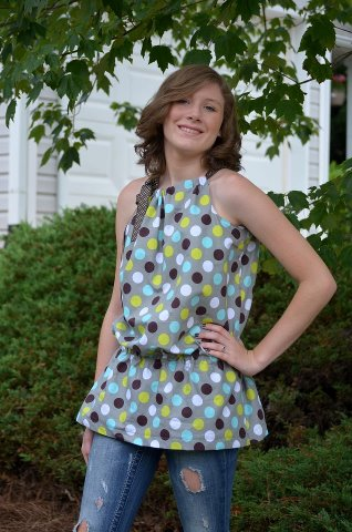 Seamingly Smitten: Halter Top Sewing Pattern - easy women\'s sewing ...