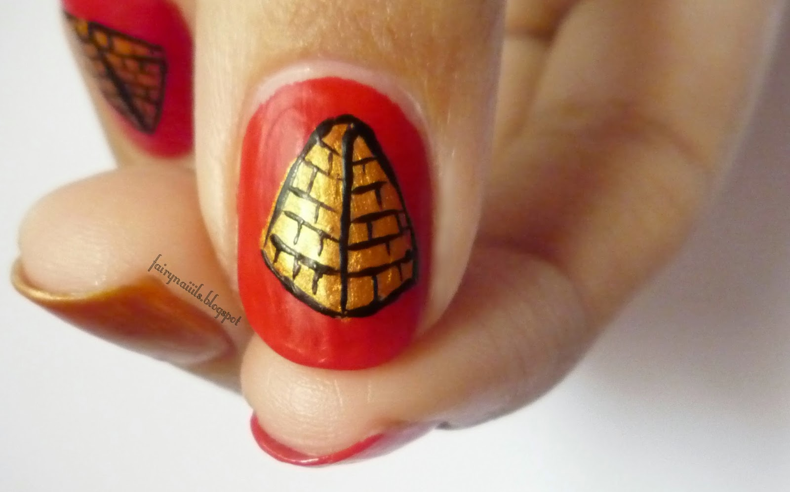 Uñas de Hada: Nail Art Ideas Linkup: Mayo - Turismo