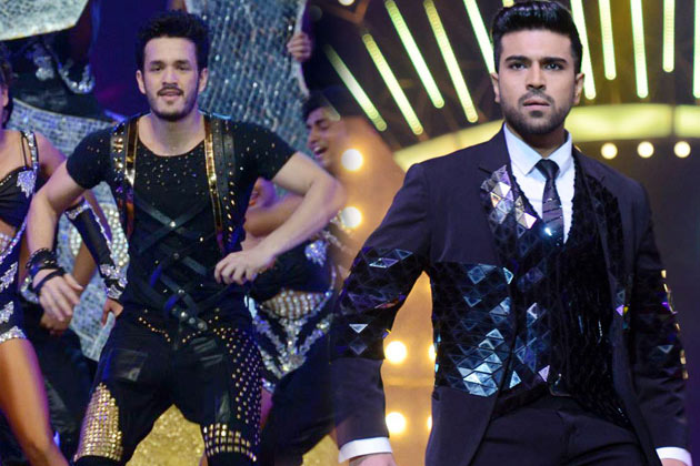 Akhil and Charan Dance Performance at IIFA Utsavam
