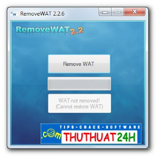 Wat Remover, Wat Remover Windows 7