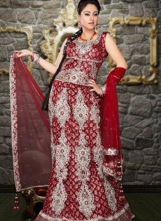 Party-Wear-Bridal-Lehenga