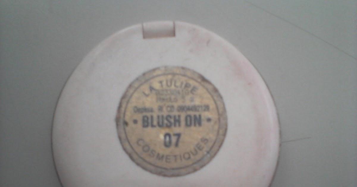 Archika Loves Makeup La Tulipe Blush No 07