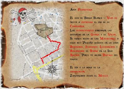 Crear Invitación Fiesta Pirata1