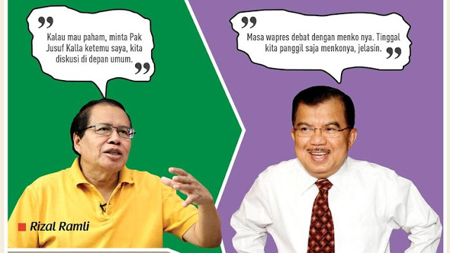 Ini Jurus Rajawali Ngepret Rizal Ramli untuk Kritik Kabinet