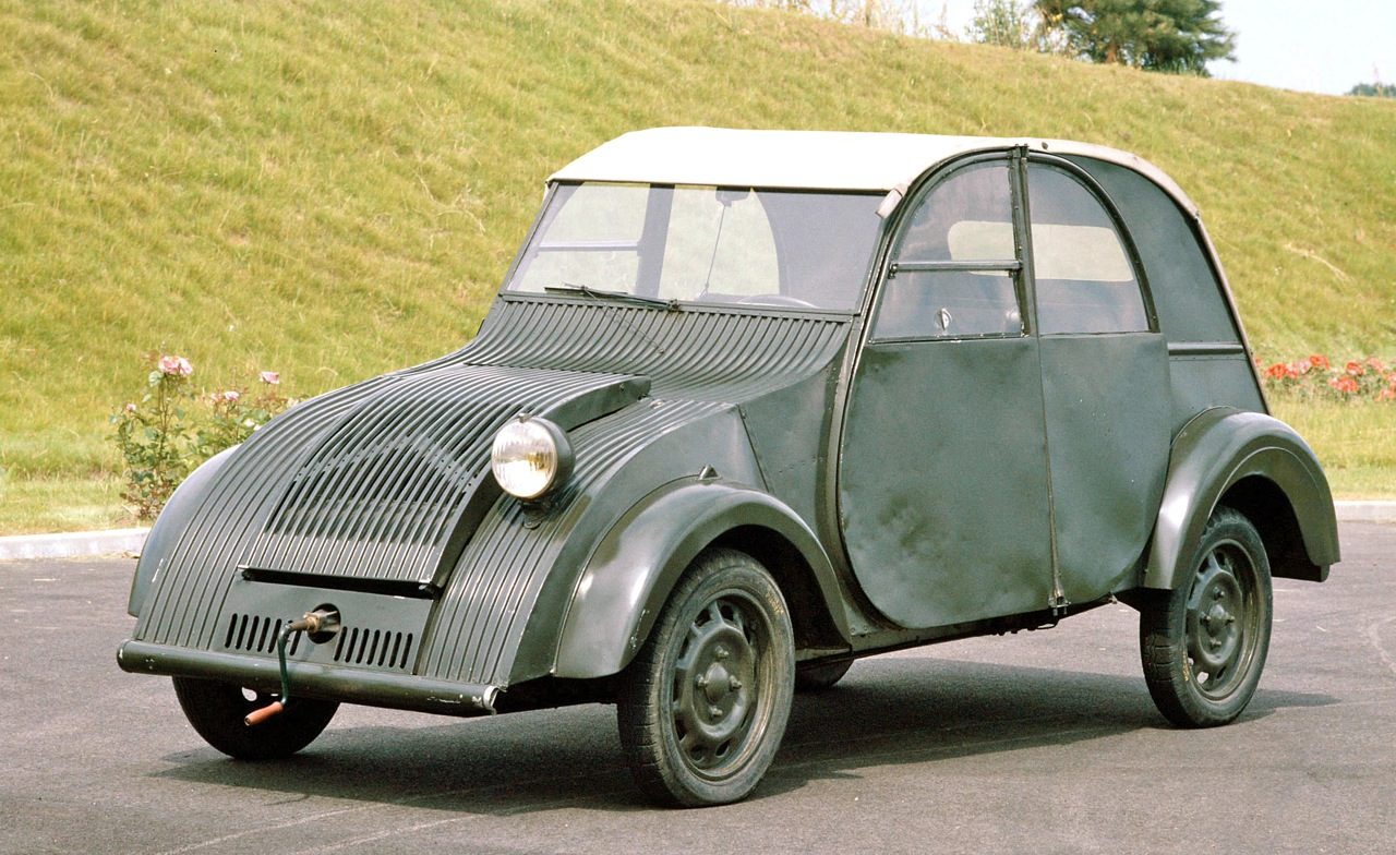 citroen 2cv top speed