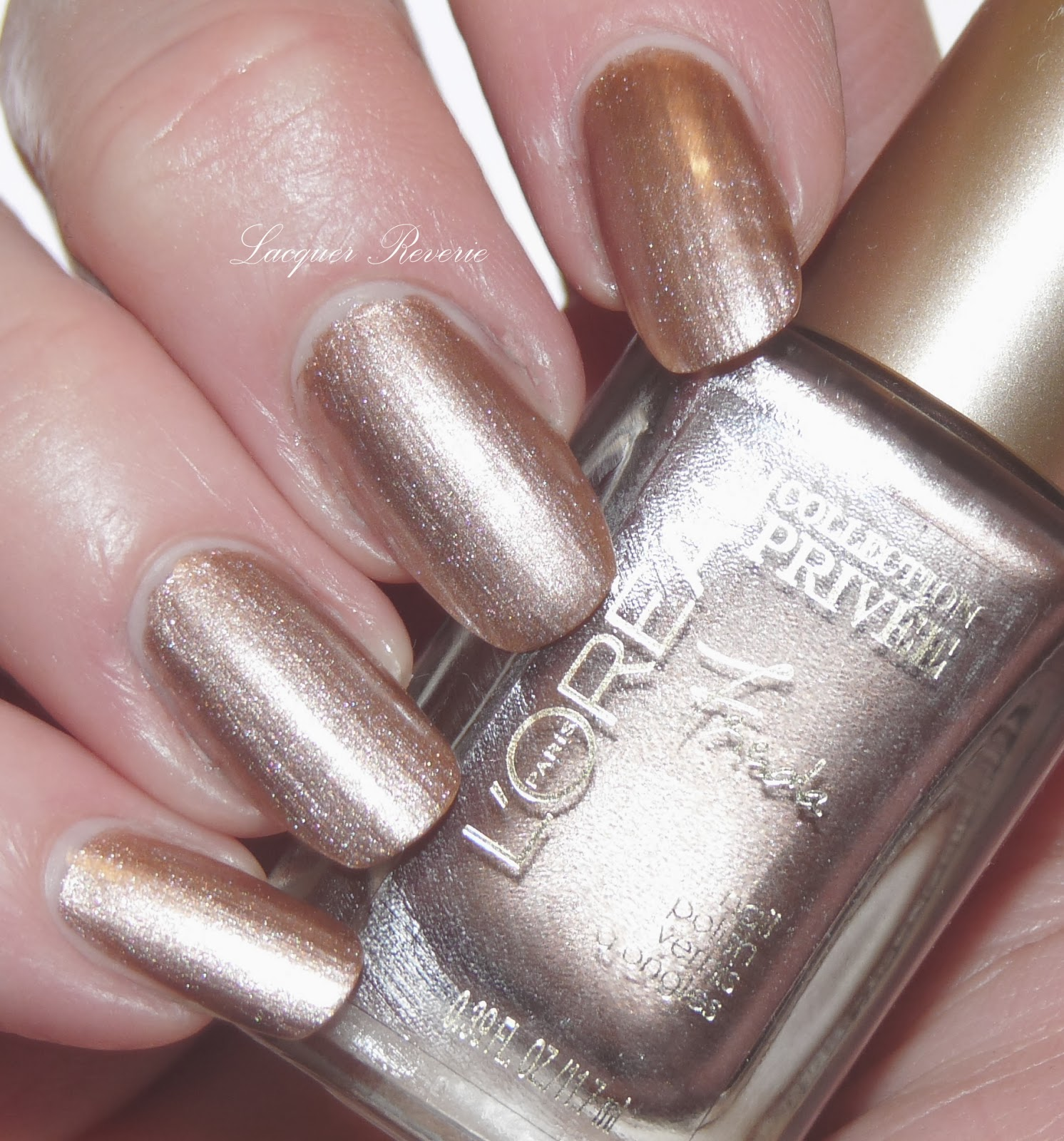 Lacquer Reverie: L\'Oreal Collection Privee Nudes: Frieda\'s Nude and ...