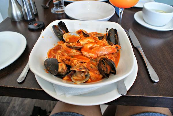 Thalassa Chase Side Southgate Seafood Spaghetti