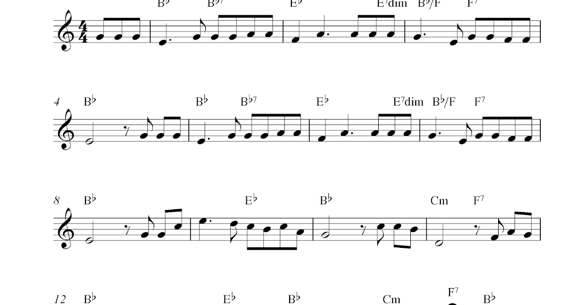 How Great Thou Art, free clarinet sheet music notes