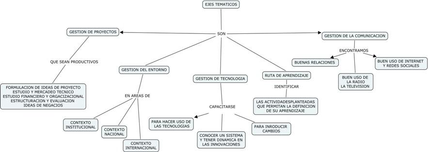 Tecnicas Corporales Manuales: Mapa Conceptual sobre ejes Tematicos