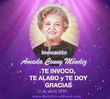 Invocación a Conny Méndez