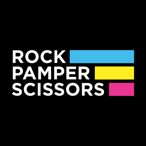 Rock Pamper Scissors (logo)