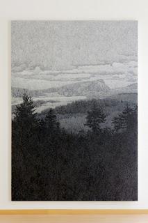 Richard Müller: Paysage gris-bleu