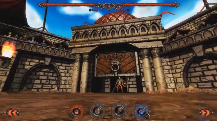 صورة من داخل اللعبة  Rage of the Gladiator